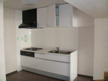 白キッチン
